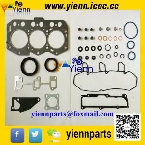 China Yanmar 3YM30 marine engine overhual rebuild parts piston+ piston ring+cylinder liner+full gasket kit with head gasket on sale