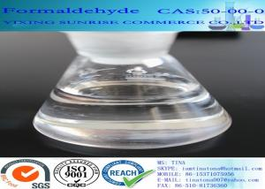 China CAS 50-00-0 Formaldehyde No Suspended Substance Liquid With Strong Pungent Odor on sale