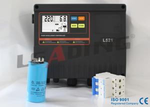 China 50HZ Frequency Single Phase Pump Control Panel With Empty Load Function Protection on sale