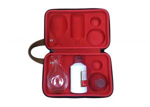 China Customized Cute Portable Wine Case Custom EVA Case Fit Wine and Bottle Inside Protective on sale