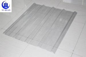 China FRP Sun Translucent Corrugated Roofing Sheets?/ Corrugated Clear Plastic Roof Panels on sale