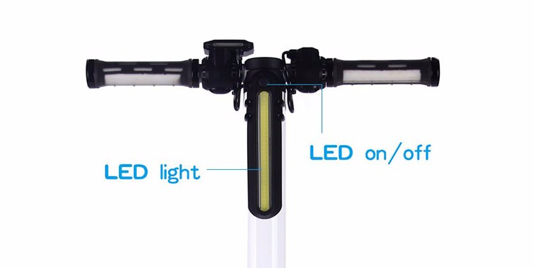 2016 new product carbon fiber electric scooter light weight electric scooter