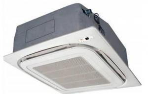 China Cassette Hybrid Solar Air Conditioner , Rotary Compressors DC Air Conditioner Solar on sale