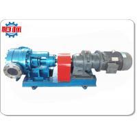 Viscous Thick Liquid Internal Rotary Gear Oil Pump Commercial High Pressure