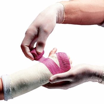 Fita ortopédica da carcaça da fibra de vidro