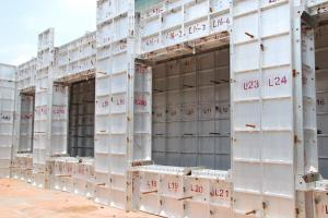 China Aluminum Template Construction Aluminum Profile Combination Shape on sale