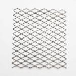 Shelving Extruded Steel Mesh , Long Service Life Stretched Steel Mesh