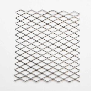 China Shelving Extruded Steel Mesh , Long Service Life Stretched Steel Mesh on sale