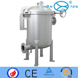 China Sand Blasted Side-in Multi Bag Filter Housing Equipment With Clamps on sale