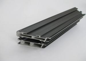 China Break Bridge Grey Aluminium Window Profiles Customized Heat Insulation on sale