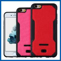 Red TPU Leather Phone Holster Iphone 6s 4.7 Cell Phone Cover