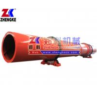 High capacity up to 45tph peat rotary dryer