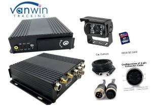 China High Resolution 1080P SDI  card  4 Channel Mobil DVR for  Bus Camera Surveillance System on sale