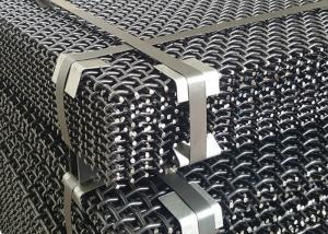 China Stone Crusher Machine Parts Weave Type Anti-clogging Screen Mesh Specification on sale