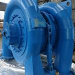 Stainless Runner Francis Hydropower Plant Hydro Turbine 500KW For Hydro Generator