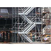 Hot Dip Galvanized Kwikstage / K - Stage Cuplock Stair Tower With Safety Ladder