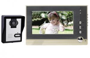 China 7 inches Color LCD Video Door Phone Intercom Doorbell GW607SC-F1B on sale