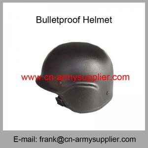 China Wholesale Cheap China Black Army NIJ IIIA Aramid PASGT Ballistic Helmet on sale