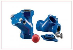 China Industrial Horizontal Ball Check Valve For Sludge Pump / Low Pressure Drop Check Valves on sale