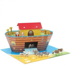 China Outdoor Corrugated Cardboard Toys Playhouse with  creations for Children ENTO005 on sale