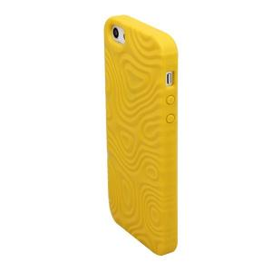 China Customized Eco - friendly Yellow cute original Apple iPhone 5 Protective Cases and covers on sale