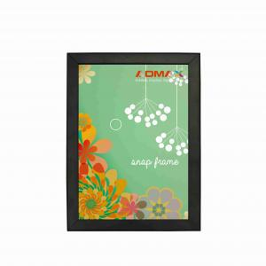 China Tabletop Snap Poster Frames For Indoor Advertising Round / Mitred Corner on sale