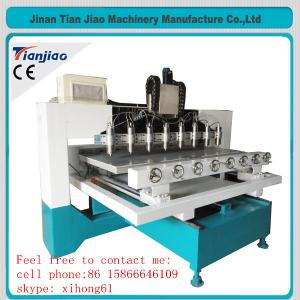 China Automatic sofa making machine/wooden staircase handrail making machine on sale