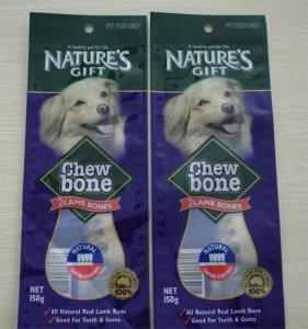 Quality Flat Bottom Dog Food Storage Bag Zip Lock Bags Doypack For