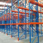 Coating Finish Q235B Steel 2000KGS Drive In And Drive Through Racking