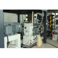 Adjustable PVC Sheet Extruder , PE Extrusion Machine Large Quantity Output