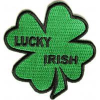 Lucky Irish Shamrock Patch Iron on or Sew on