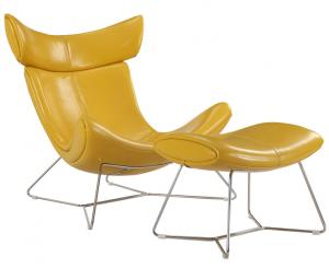 China High Back Replica Eames Daw Armchair , Leather Replica Occasional Chairs on sale