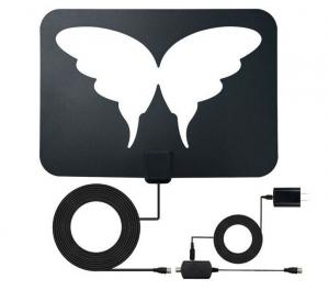 China Factory supply hd clear vision tv indoor antenna ,indoor tv antenna with sucker,digital HDTV antenna on sale