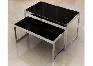Quality Stainless Steel Nesting Display Tables 1200 * 600 * 900MM For Advertisment for sale
