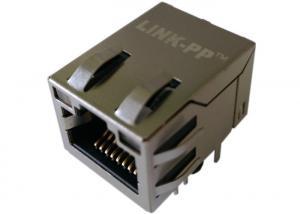 China Tyco 1-6605758-1 250 Rj45 Modular Jack Shielded Right Angle 250 OHMS Resistor on sale