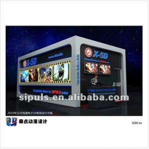 China Good quality 3D Cinema System & 3D Theater System on sale on sale