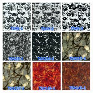 China TSAUTOP Width 1M TSA9-1 skull patterns pva water transfer printing film on sale