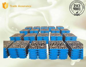 Quality Stacker Travelling Wheel Steel Sag Mill Liners Alloy Castings EN 100831-1991 for sale