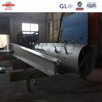GB ASTM Q345 Crane Undercarriage For Marine Machinery , High Precision Chasis