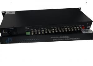 China AC220V/50Hz Video Digital Optical Converter 720p/1080p With 25M Bandwidth on sale