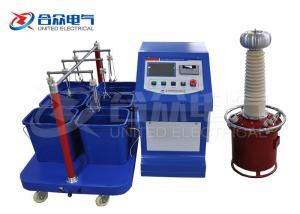 China Automatic Insulated Boots / Gloves Withstand Strength High Voltage Test System on sale