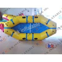 Fashionable PVC Rigid Inflatable Boat 1.5 meters Inflatable Kayaks / Rafts
