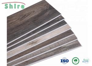 China Wood Grain SPC Stone Plastic Composite Flooring For Hospital / Office Building on sale