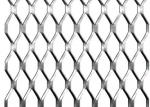 Light Duty Aluminum Expanded Metal Mesh Decorative For Exterior Wall Cladding