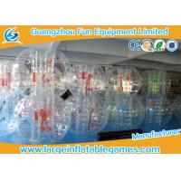1.8M dia TPU / PVC  Iinflatable bubble ball Human Sphere Hockey Ball Customized