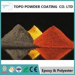 RAL 1004 Color Textured Powder Coat For Tank Polyester Raw Materials