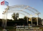 Customized 300mm Aluminum Arch Spigot Truss For Structure , Exhibition Truss System