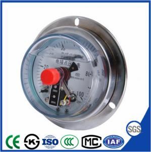 China 40mm/60mm  High Quality and Best-selling  Shock proof electric contact pressure gauge on sale