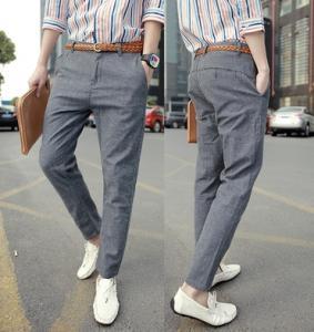 China fashion men pants,Cotton and linen on sale