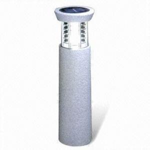 China Polystone Solar Post Light/Polyresin Solar/Stone Effect Solar/Garden Decoration Solar LED Light on sale